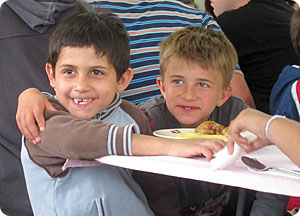 Orphans in Romania
